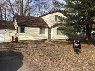 Southfield Single Family Home For Sale: 20702 Westland Dr