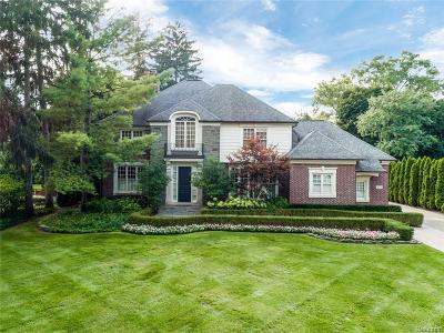 Birmingham Single Family Home For Sale: 222 Arlington St