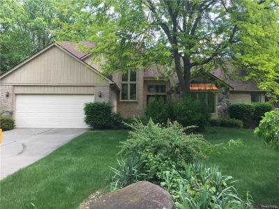Farmington Hills Single Family Home For Sale: 37842 Glengrove Drive