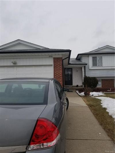 Sterling Heights Single Family Home For Sale: 4195 Rose Mary Dr