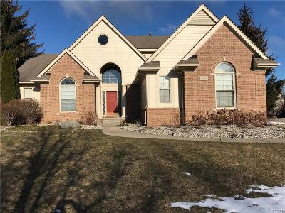 West Bloomfield Single Family Home For Sale: 6472 Wyndham Dr