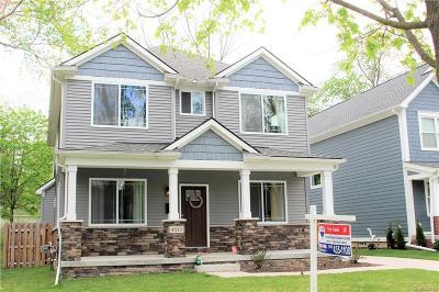 Royal Oak Single Family Home For Sale: 4513 Tonawanda Ave