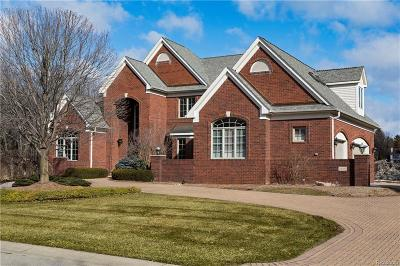 Northville Single Family Home For Sale: 18593 Fox Hollow Crt