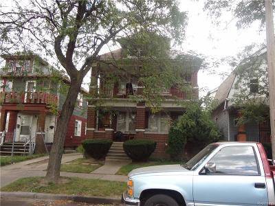 Detroit Single Family Home For Sale: 6642 Willette St