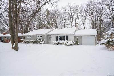 Southfield Single Family Home For Sale: 21219 Mahon Dr