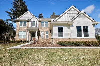 Bloomfield Hills Single Family Home For Sale: 3110 Middlebury Ln