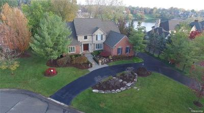 Northville Single Family Home For Sale: 18551 Fox Hollow Crt