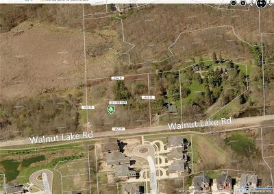 West Bloomfield Residential Lots & Land For Sale: 7230 Walnut Lake Rd Rd W