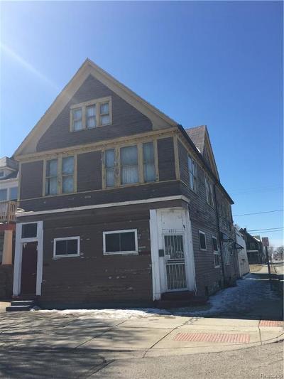 Detroit Multi Family Home For Sale: 4871 Canton St