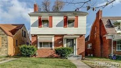 Detroit Single Family Home For Sale: 18266 Santa Rosa Dr