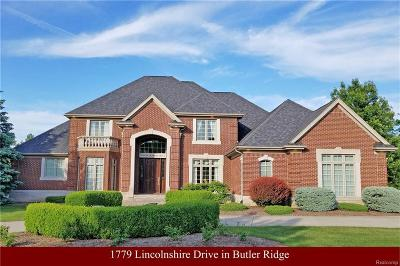 Single Family Home For Sale: 1779 Lincolnshire Dr