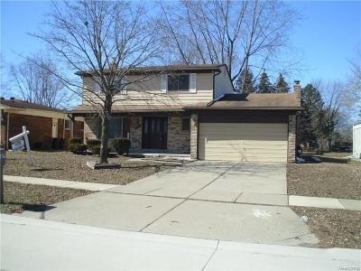 Sterling Heights Single Family Home For Sale: 39679 Baker Dr