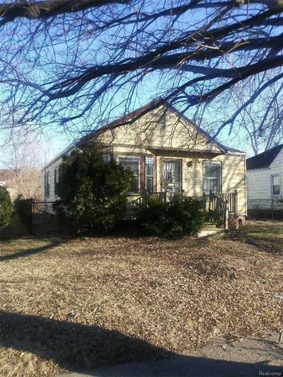 Detroit Single Family Home For Sale: 3511 S Ethel St
