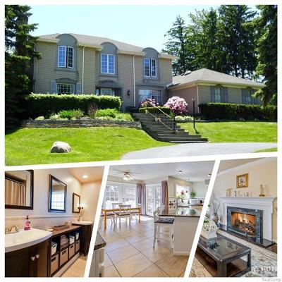 West Bloomfield Single Family Home For Sale: 5085 Watergate Rd