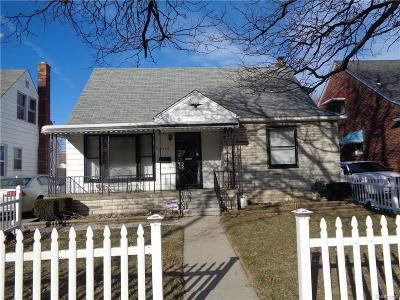 Detroit Single Family Home For Sale: 7739 Woodmont Ave