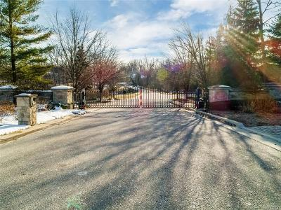 Bloomfield Hills Residential Lots & Land For Sale: 536 Barrington Crt