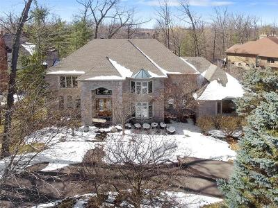 Bloomfield Hills Single Family Home For Sale: 2464 Heronwood Dr