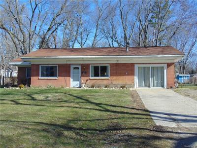 Lake Orion Single Family Home For Sale: 227 Goldengate St