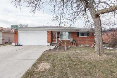 Sterling Heights Single Family Home For Sale: 12265 Eldorado Dr