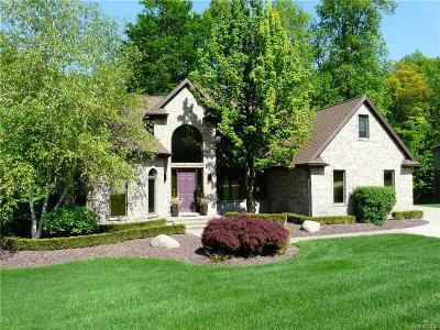 Clarkston Single Family Home For Sale: 8470 Deerwood Rd