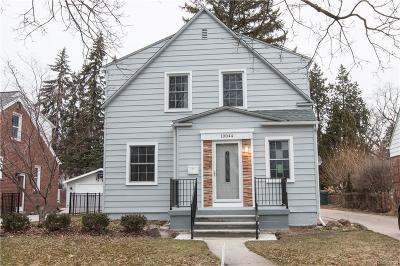 Huntington Woods Single Family Home For Sale: 10044 Lasalle Blvd