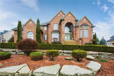 Washington Single Family Home For Sale: 4879 Crystal Creek Ln