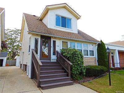 Grosse Pointe Single Family Home Pending: 1381 Wayburn St