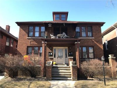 Grosse Pointe Park Multi Family Home Sold: 1033 Maryland St