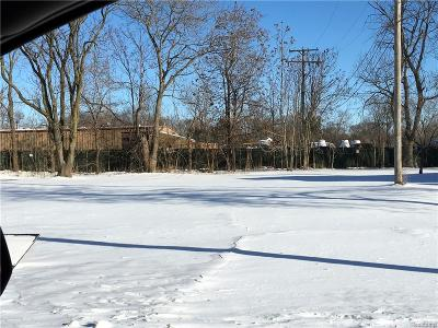 Shelby Twp Residential Lots & Land For Sale: 46900 Ryan Rd