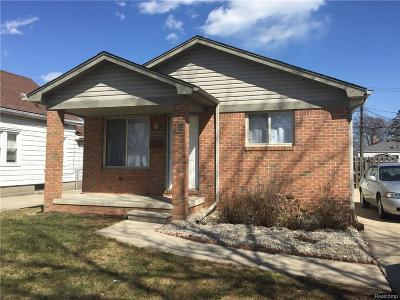 Eastpointe Single Family Home For Sale: 23068 Lambrecht Ave