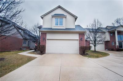 Shelby Twp Condo/Townhouse For Sale: 4341 Summer Pl