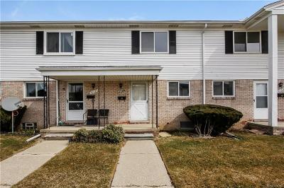 Sterling Heights Condo/Townhouse For Sale: 14155 Brightmore Dr