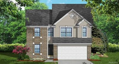Westland Single Family Home For Sale: 8755 Oakridge Trail