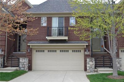Macomb Condo/Townhouse For Sale: 45921 Dutton