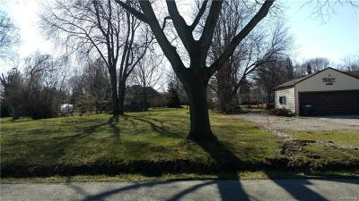 Macomb Residential Lots & Land For Sale: 39271 Hazel St