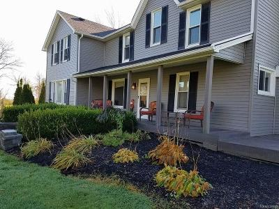 St. Clair Single Family Home For Sale: 6285 Burtch Rd