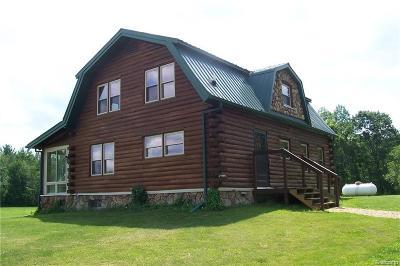 Lapeer Single Family Home For Sale: 4235 Skelton Rd