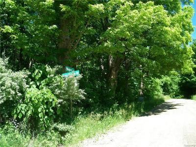 Lapeer Residential Lots & Land For Sale: Wagner Rd
