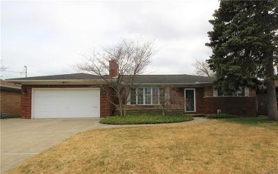 Saint Clair Shores Single Family Home For Sale: 22464 Lakecrest St