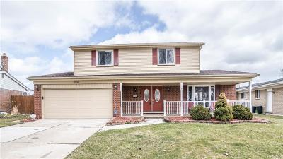 Sterling Heights MI Single Family Home For Sale: $239,900