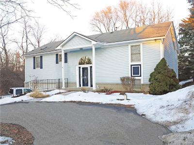 West Bloomfield Single Family Home For Sale: 2235 Hiller Rd