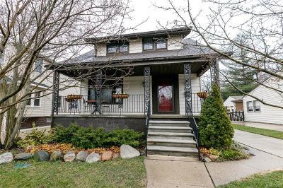 Royal Oak Single Family Home For Sale: 713 S Pleasant St
