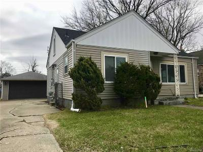 Eastpointe Single Family Home For Sale: 22434 Pleasant Ave