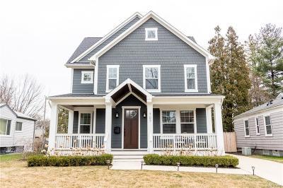 Royal Oak Single Family Home For Sale: 707 S Altadena Ave