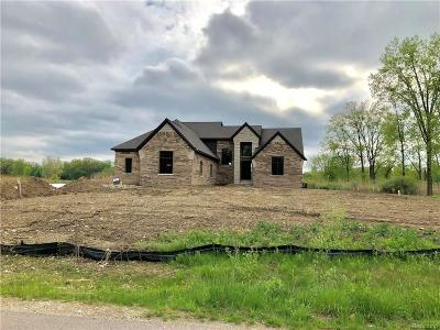 Macomb Single Family Home For Sale: 11540 Erins Way Way