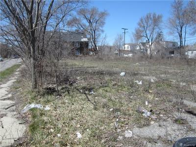 Detroit Residential Lots & Land For Sale: 6177 Miller St