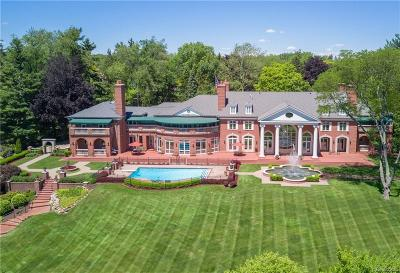 Bloomfield Hills Single Family Home For Sale: 1855 Rathmor Rd