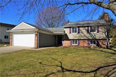 Lake Orion Single Family Home For Sale: 3226 Sandoval