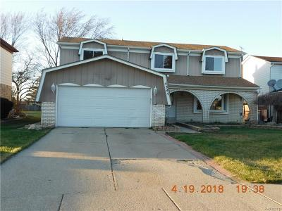 Sterling Heights Single Family Home For Sale: 4341 Bloomfield Dr