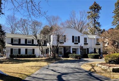 Bloomfield Hills Single Family Home For Sale: 923 Waddington St